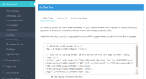 chat box for blogger